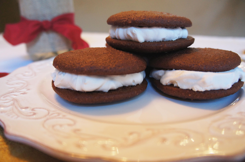 Chocolate Mint Whoopie Pies | Living Loving Paleo