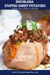 enchilada stuffed sweet potato