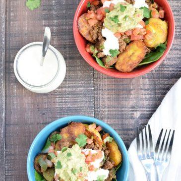Plantain Taco Bowls