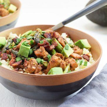 Chicken & Cauliflower Rice Bowls