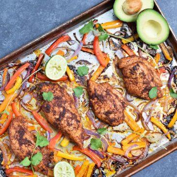 Chicken Fajita Sheet Pan Dinner