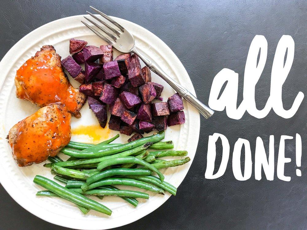 10-Minute Chicken & Veggies