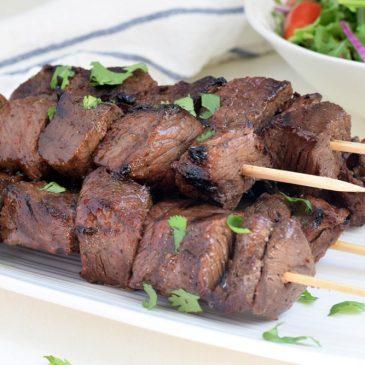 Balsamic Steak Kabobs