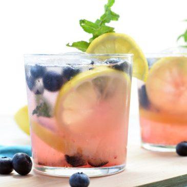 Lemon Blueberry Smash