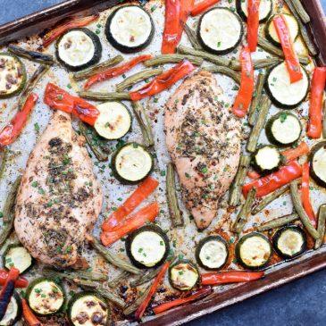 Italian Chicken Sheet Pan Dinner