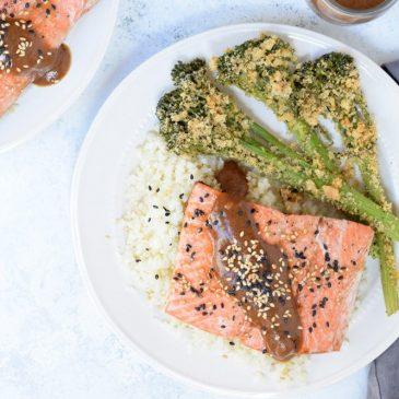 10-Minute Teriyaki Salmon