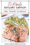Whole30 Teriyaki Salmon recipe