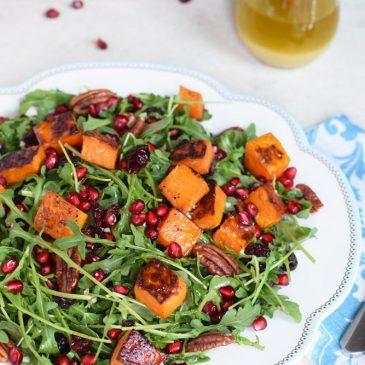Roasted Butternut Squash Salad