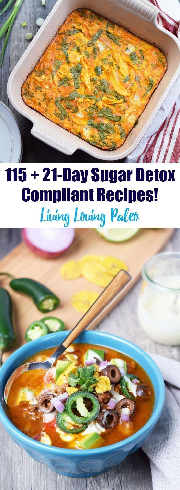 21-Day Sugar Detox Recipe Roundup