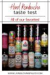 The ultimate hard kombucha taste test!