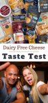 taste test of dairy free cheese types